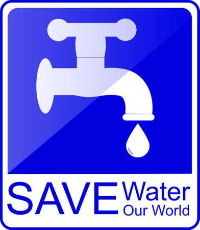 drain water: Water tap