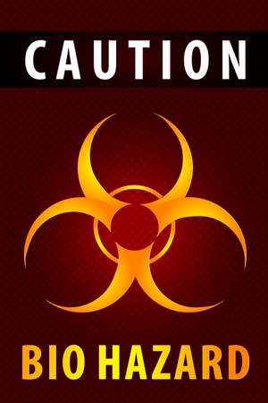 Radiation hazard symbol sign Stock Vector - 28416178