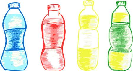 set of sketchy four bottles