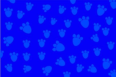 animal foot: Background - animal foot print