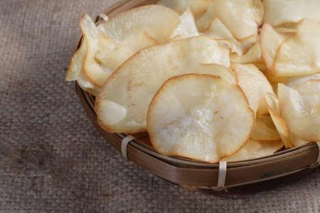 Chips Cassave Stockfoto