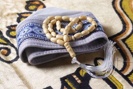 tasbih - moslem prayer beads Banque d'images