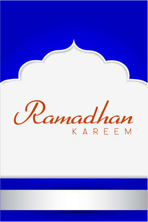 Ramadhan Greeting Card  Vector