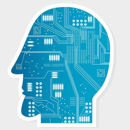 Electronic Circuit Board at Head