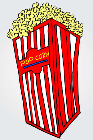 doodle pop corn  photo