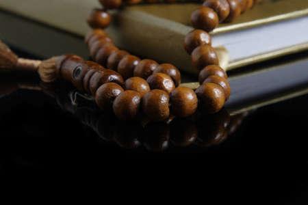 mohammed: tasbih - moslem prayer beads Stock Photo
