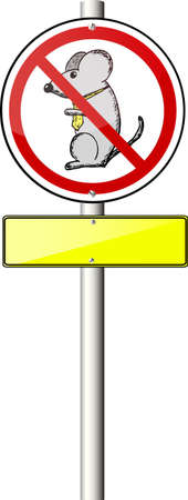 don't: Traffic Sign - Mouse Don t Stock Photo