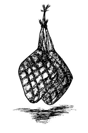 Ketupat, indonesia traditional food