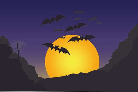 Doodle Halloween Background photo