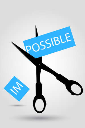 possibility: Scissor - Illustration for Impossible
