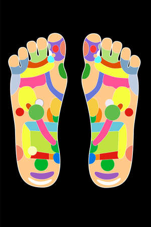 chiropody: Traditional alternative heal, Acupuncture - Foot Scheme