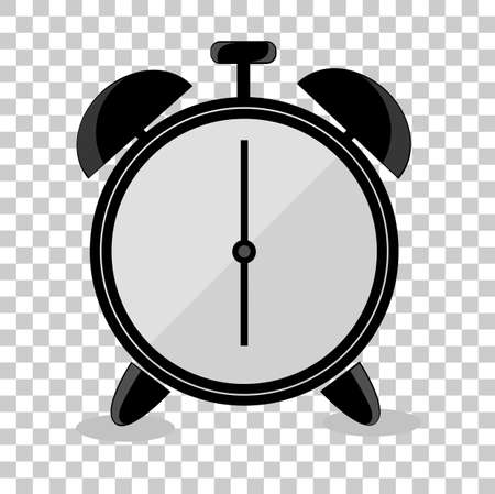 pm: doodle Alarm Clock, isolated on white