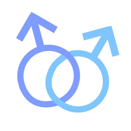 transgender: Illustration for Homosexual and transgender