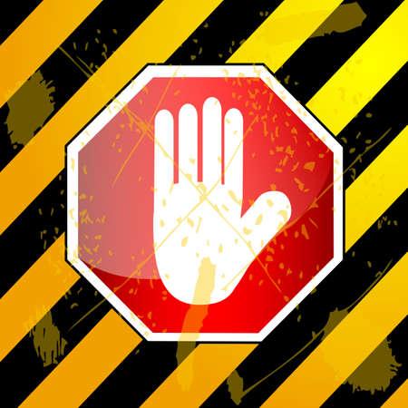 not allowed: Sign - Not Allowed