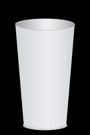 take out food container: White Plastic Glass Stock Photo