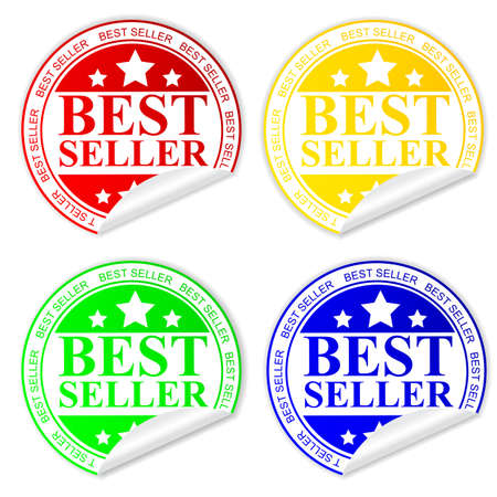 at best: Rubber Stamp - Best Seller Stock Photo