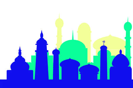 Background - Silhouette of Mosque