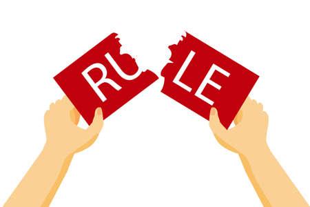 Illustration for Break the Rule
