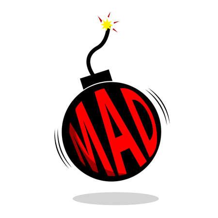 Illustration for Mad explosion