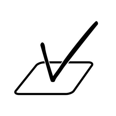 Simple Illustration for Vote Stock Photo