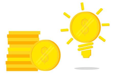 Golden Dollar Coin - Idea