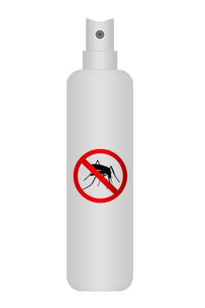 repellent: Spray Bottle - Mosquito Repellent (Realistic)