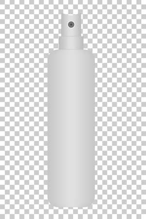 freshener: Realistic Spray Bottle at Transparent Effect Background