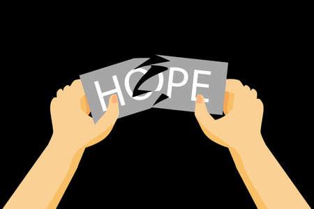 hopeless: Illustration for Hopeless