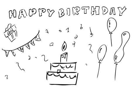 stuff: doodle Birthday Stuff
