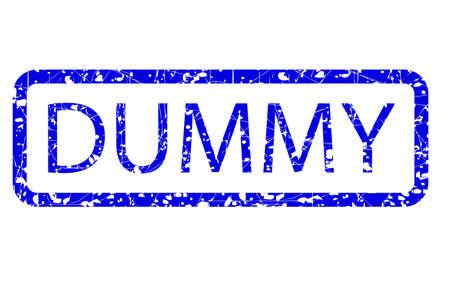Exemplar: Rubber Stamp Effect, Dummy