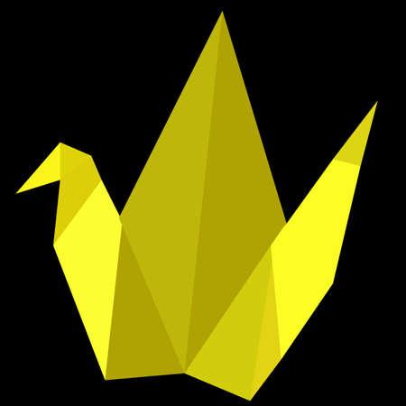 Origami, Yellow Bird