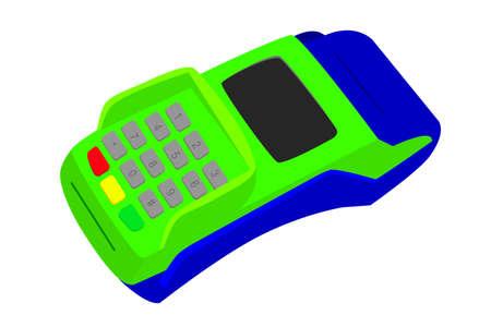 automatic transaction machine: Simple Picture - EDC Machine