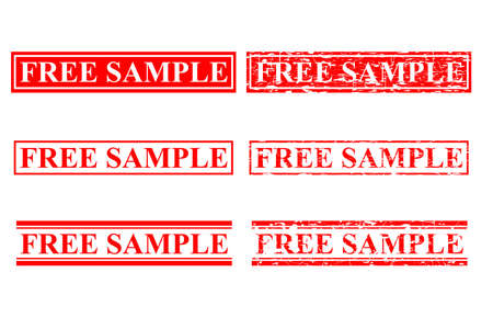 Various Style Rubber Stamp Effect - Free Sample Stock Photo