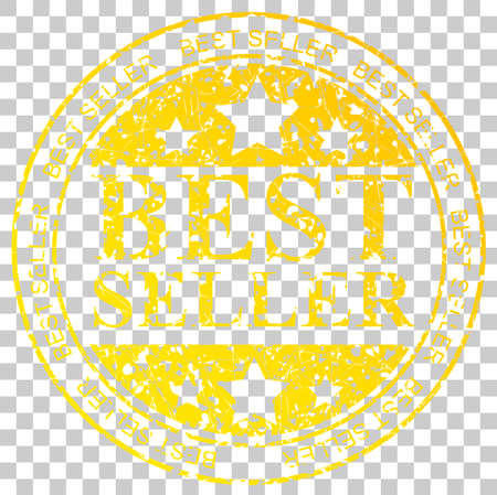 Yellow Circle Rubber Stamp : Best Seller, at Transparent Effect Background
