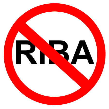 sign - no riba  (bank interest in indonesia or arabic language)