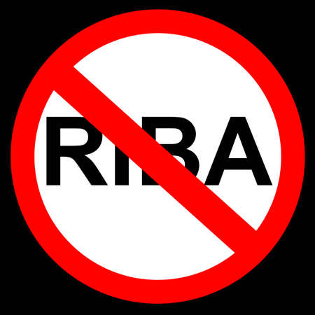 Simple Sign Riba (Money Credit in Arabic or Indonesia Language)