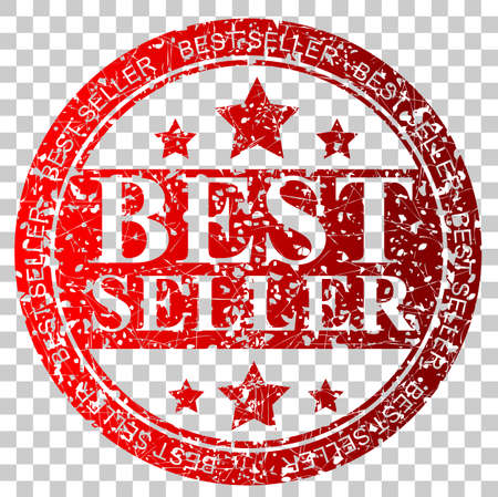 Rubber Stamp - Best Seller Stock Photo