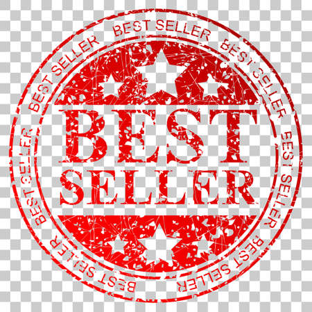Red Circle Rubber Stamp - Best Seller at Transparent Effect Background