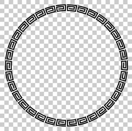 証明書のための黒い円フレーム, プラカードゴーXi脂肪カイ, イムレクモーメントまたは他の中国関連, 透明な効果の背景で