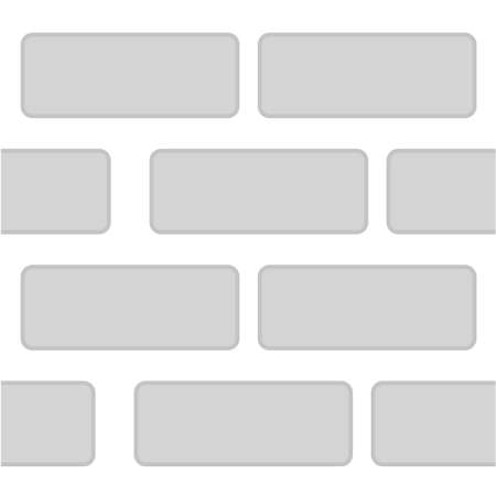 Seamless Simple Background Gray Brick Wall  Stock fotó