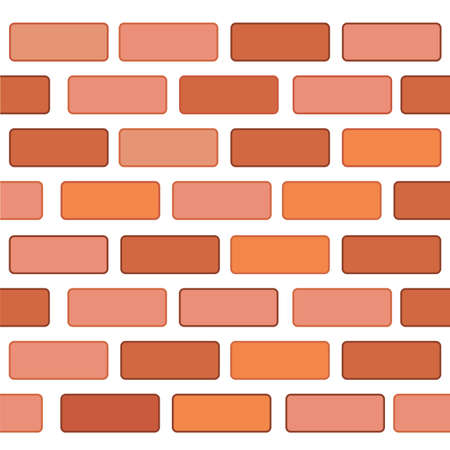 Background, Seamless Red Brickwall