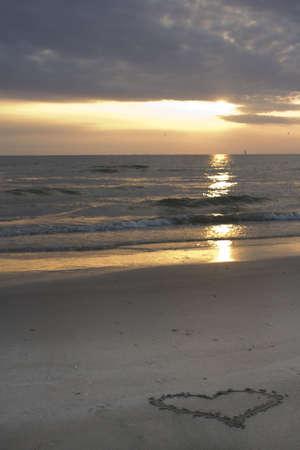 Love at beach