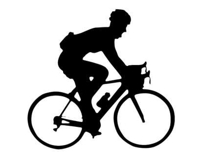Bike runner Stock Vector - 7528355