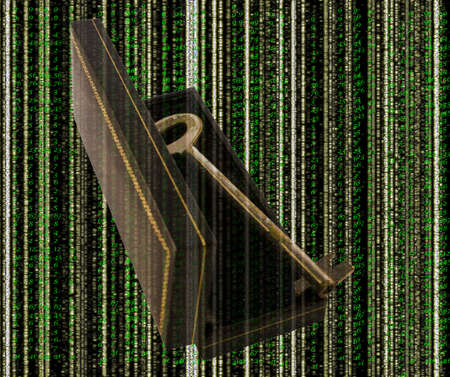 Find the key for encryption software Stock Photo - 8939652