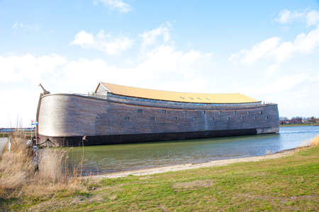 Replica of Ark of Noah in The Netherlands Editorial