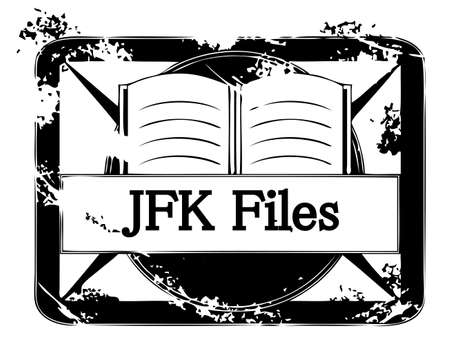 Illustration of secret JFK files.