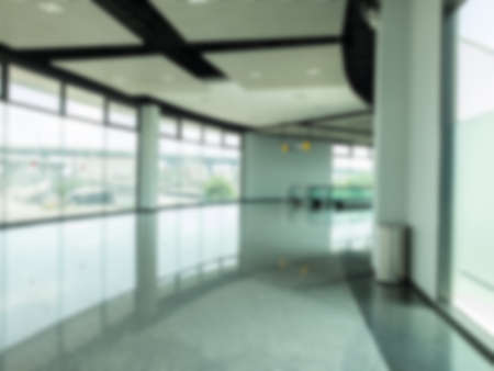 Abstract blur of walk way to Exhibition hall photo