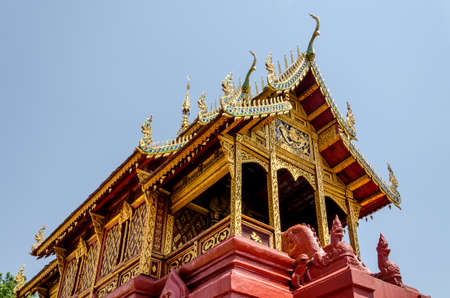 thailand temple: Buddhist temple in Lampoon Thailand