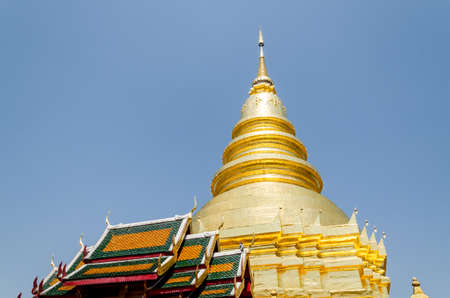 thailand temple: Buddist temple in Lampoon Thailand