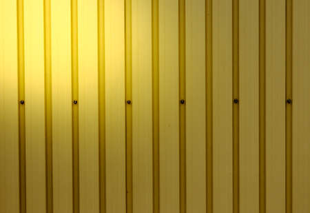 Shiny Corrugated sheet as background photo